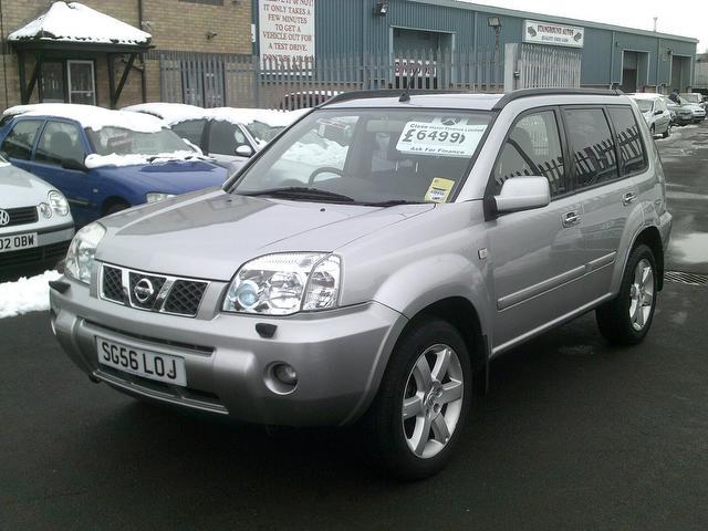 used nissan x trail diesel for sale uk autopazar. Black Bedroom Furniture Sets. Home Design Ideas