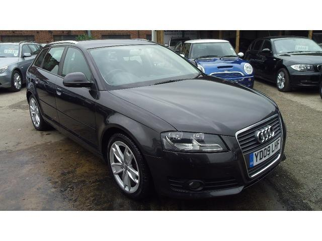 used audi a3 2009 model 1 9 tdi sport 5dr diesel hatchback grey for sale in wembley uk autopazar. Black Bedroom Furniture Sets. Home Design Ideas