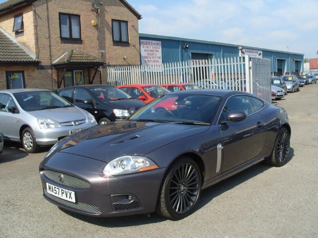 used jaguar xk 2007 grey paint petrol 4 2 supercharged v8. Black Bedroom Furniture Sets. Home Design Ideas