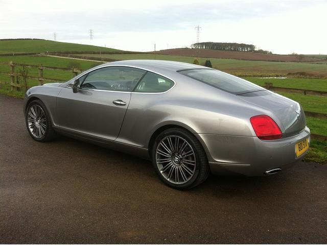 Used Silver Bentley Continental 2004 Petrol 6 0 W12 2dr