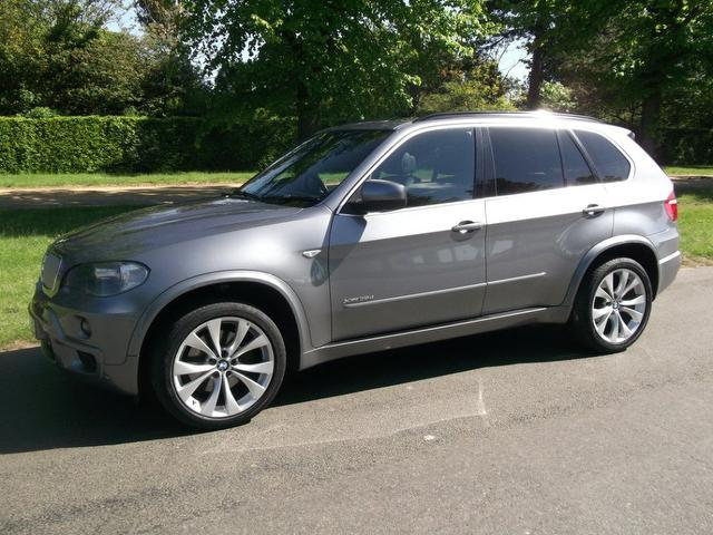 Used Bmw X5 Xdrive35d M Sport 5 Door 4x4 Grey 2010 Diesel for Sale in UK