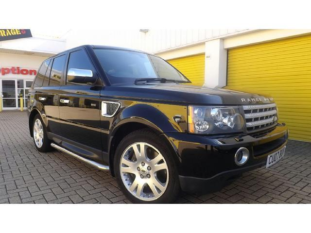 used land rover range 2008 diesel sport 2 7 4x4 edition for sale in portsmouth uk autopazar. Black Bedroom Furniture Sets. Home Design Ideas