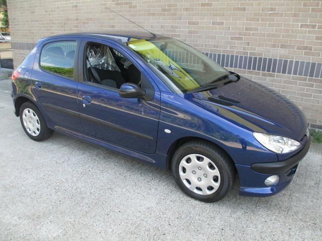 Used Peugeot 206 2005 Blue Hatchback Petrol Manual for Sale