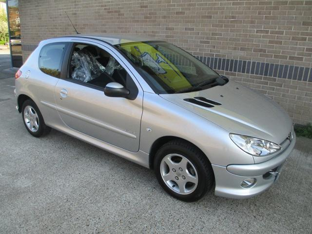 Used Peugeot 206 2006 Silver Hatchback Petrol Manual for Sale