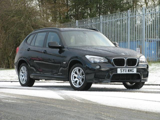 used bmw x1 2011 manual diesel xdrive 20d m sport black for sale uk autopazar. Black Bedroom Furniture Sets. Home Design Ideas