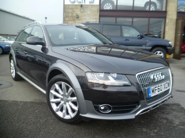 Used Audi A4 2.0 Tdi Quattro 170 Estate Grey 2010 Diesel for Sale in UK