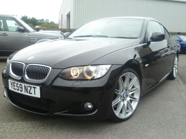 used 2009 bmw 3 series coupe black edition 330d m sport diesel for sale in penzance uk autopazar. Black Bedroom Furniture Sets. Home Design Ideas