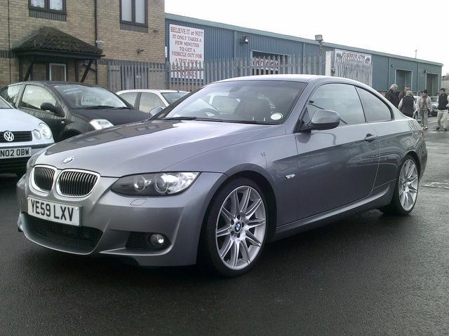 used grey bmw 3 series 2009 diesel 325d m sport coupe excellent condition for sale autopazar. Black Bedroom Furniture Sets. Home Design Ideas
