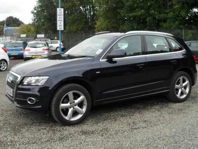 used audi q5 2009 diesel 2 0 tdi quattro s 4x4 blue edition for sale in inveralmond place uk. Black Bedroom Furniture Sets. Home Design Ideas
