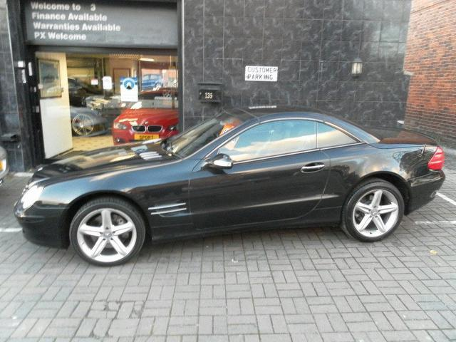 Used mercedes benz 2002 petrol class sl 500 2dr for Mercedes benz sl coupe for sale