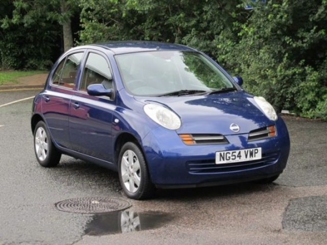 used nissan micra 2005 petrol blue automatic for sale in epsom uk autopazar. Black Bedroom Furniture Sets. Home Design Ideas
