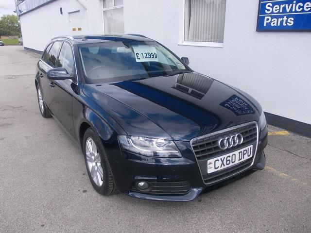 Used Audi A4 2010 Blue Estate Diesel Manual for Sale
