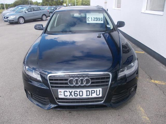 Used Audi A4 2.0 Tdi 143 Se Estate Blue 2010 Diesel for Sale in UK