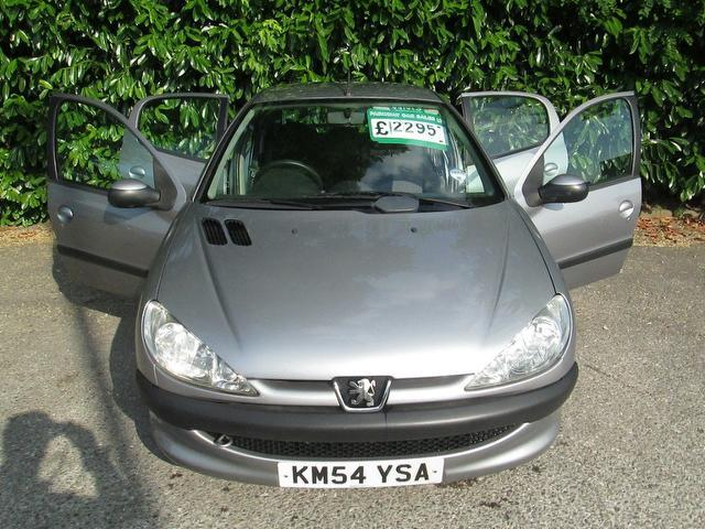 Used Peugeot 206 1.4 S 5 Door [ac] Hatchback Grey 2004 Petrol for Sale in UK