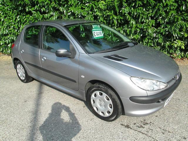 Used Peugeot 206 2004 Grey Hatchback Petrol Manual for Sale