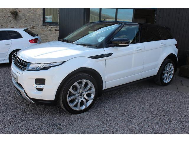 used land rover range 2011 diesel evoque 2 2 hatchback white edition for sale in kettering uk. Black Bedroom Furniture Sets. Home Design Ideas