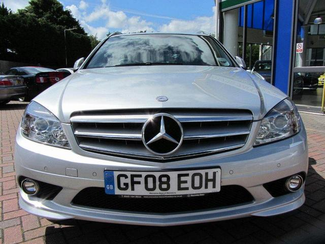 Used mercedes benz 2008 petrol class c180k sport 5dr for Used mercedes benz sale