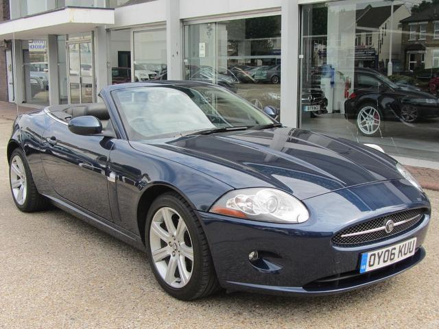 High Quality Used Jaguar Xk 2006 Blue Convertible Petrol Automatic For Sale