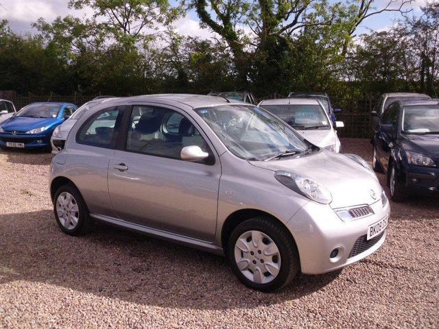 used nissan micra 2008 silver colour petrol 1 2 acenta 3 door with hatchback for sale in. Black Bedroom Furniture Sets. Home Design Ideas