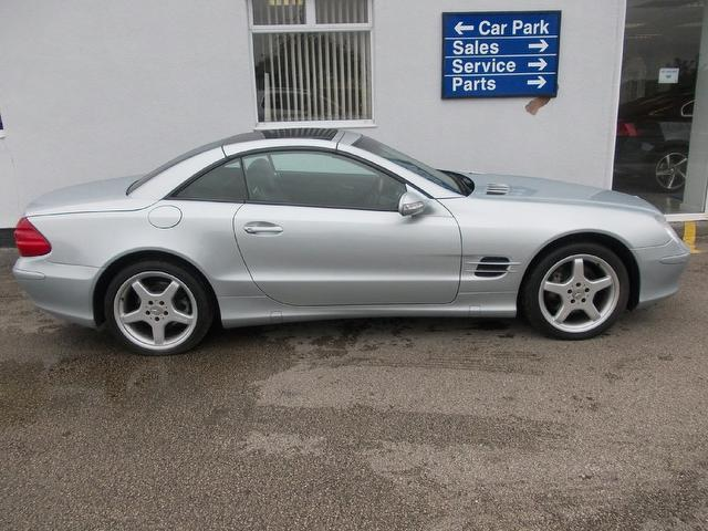Used mercedes benz 2003 petrol class sl 500 2dr for Used convertible mercedes benz for sale