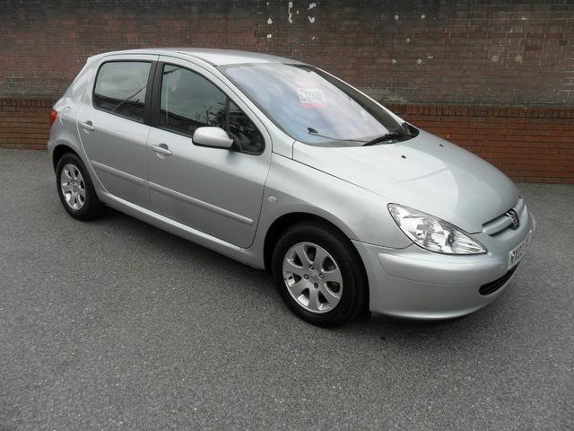 Used Peugeot 307 2003 Grey Hatchback Petrol Manual for Sale