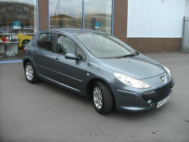 Used Peugeot 307 2006 Petrol 1 6 S 5dr Hatchback Grey