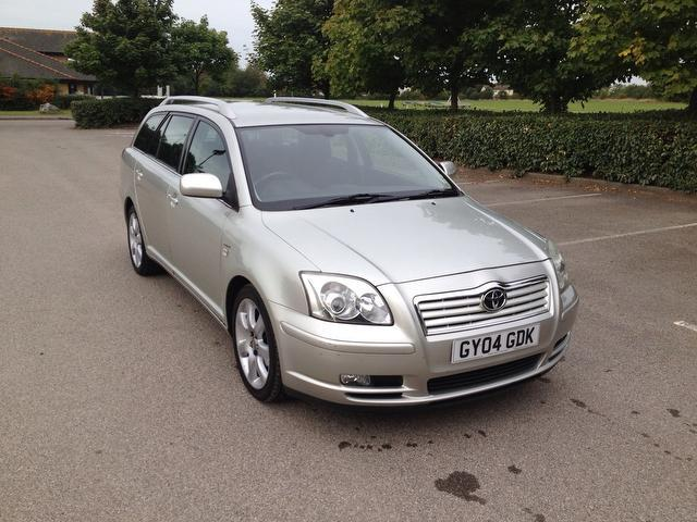 Used Toyota Avensis 2004 Silver Estate Petrol Automatic for Sale