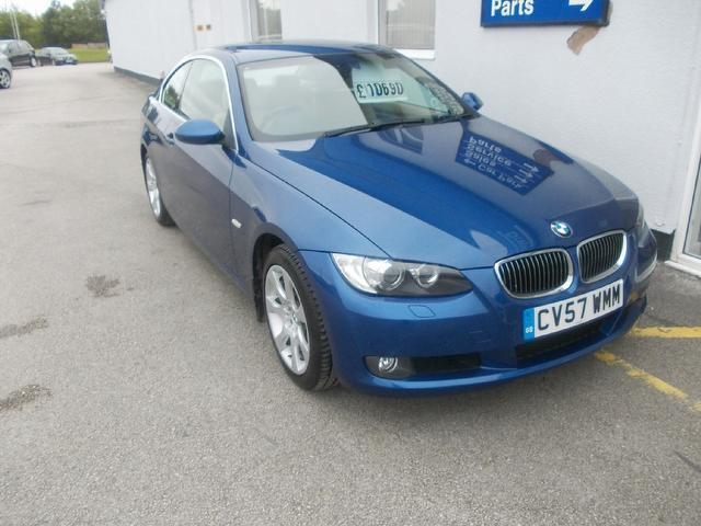 used bmw 3 series 2007 model 330i se 2dr petrol coupe blue for sale in wirral uk autopazar. Black Bedroom Furniture Sets. Home Design Ideas