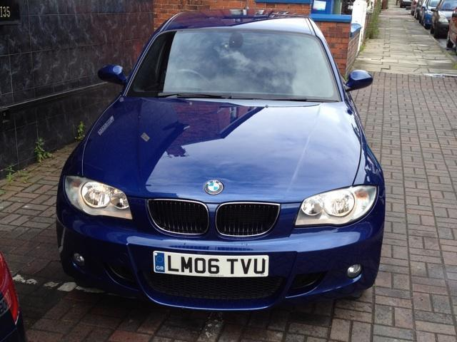 Used Cars Stockport >> Used Bmw 1 Series 2006 Petrol 116i M Sport Hatchback Blue Manual For Sale In Stockport Uk ...