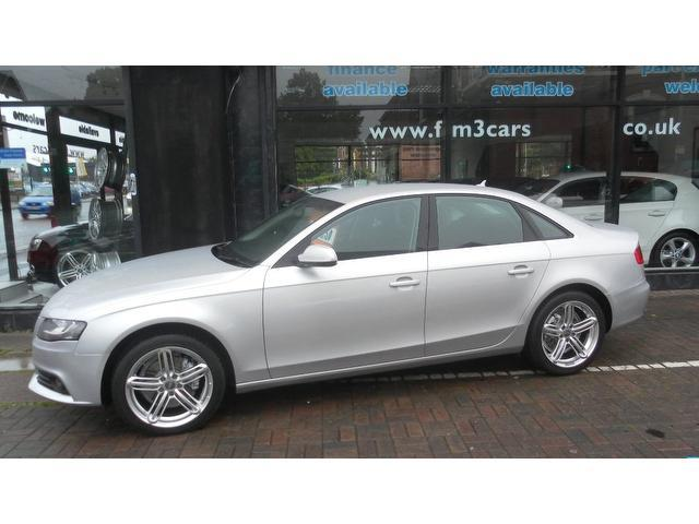 Used Audi A4 2010 Silver Saloon Diesel Automatic for Sale