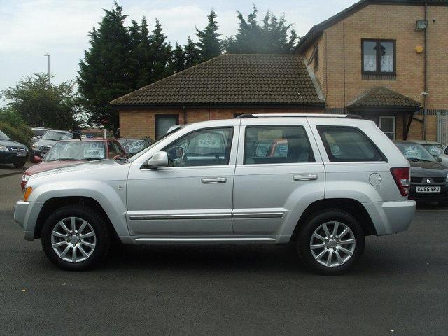 Used Jeep Grand Cherokee 3.0 Crd Overland 4x4 Silver 2007 Diesel For Sale  In UK
