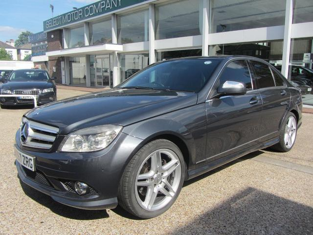 Used mercedes benz 2007 diesel class c320 cdi sport saloon for Used mercedes benz diesel for sale