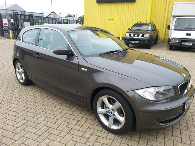 used bmw 1 series 2008 brown paint diesel 118d edition es hatchback for sale in portsmouth uk. Black Bedroom Furniture Sets. Home Design Ideas