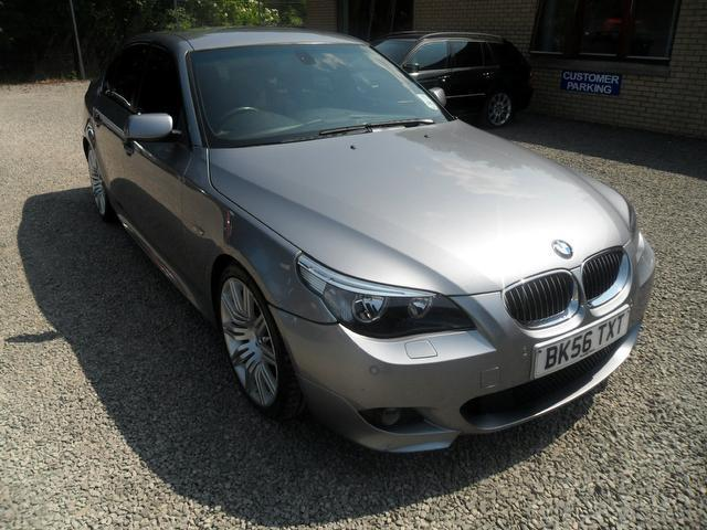 used bmw 5 series 2006 grey colour diesel 530d m sport saloon for sale in inveralmond place uk. Black Bedroom Furniture Sets. Home Design Ideas