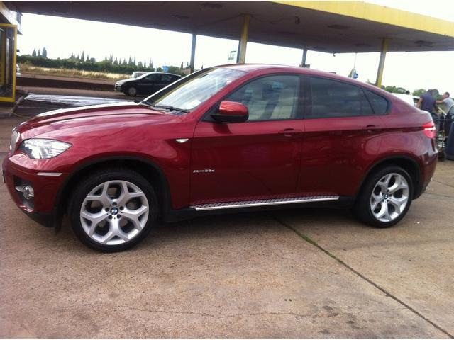 Used Bmw X6 Xdrive35d 5 Door Step Auto 4x4 Red 2009 Diesel for Sale in UK