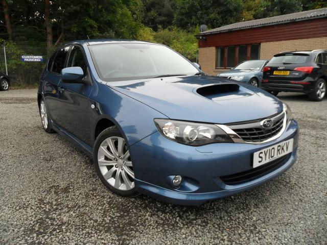 used subaru impreza 2010 petrol 2 5 wrx 5dr low hatchback blue edition for sale in inveralmond. Black Bedroom Furniture Sets. Home Design Ideas