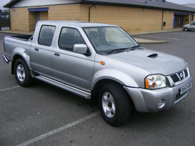 used nissan navara 2004 diesel double cab pick up 4x4 silver edition for sale in wembley uk. Black Bedroom Furniture Sets. Home Design Ideas
