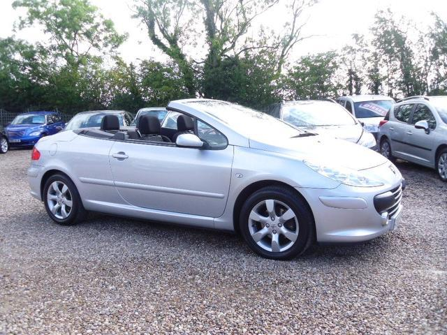 Used Peugeot 307 2007 Silver Convertible Petrol Automatic for Sale