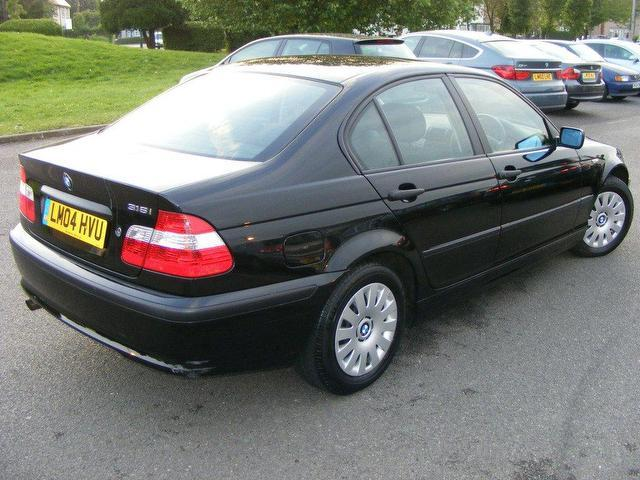 used bmw 3 series 2004 petrol 316i 16v 4dr low saloon black manual for sale in wembley uk. Black Bedroom Furniture Sets. Home Design Ideas
