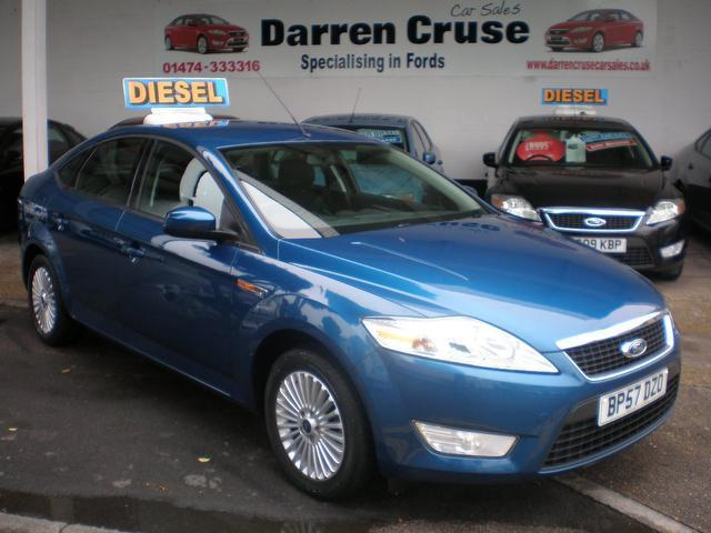 used ford mondeo 2008 diesel 2 0 tdci zetec 5dr hatchback blue with cruise control for sale. Black Bedroom Furniture Sets. Home Design Ideas
