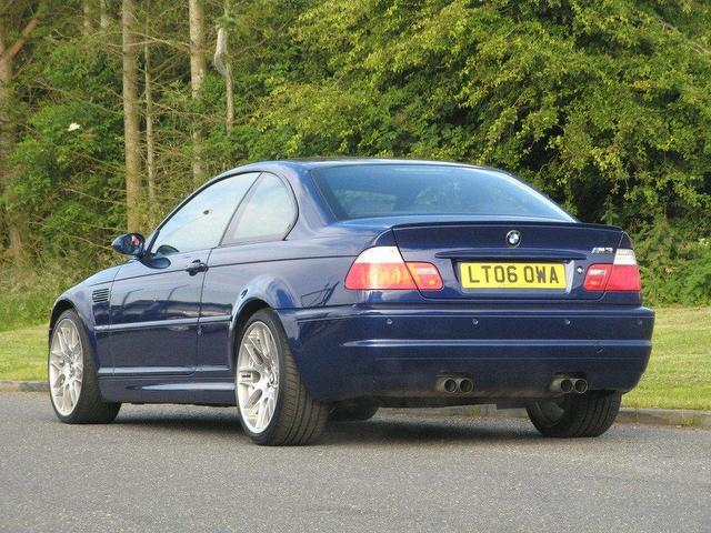 used bmw m3 2006 petrol cs 2dr 3 3 coupe blue manual for. Black Bedroom Furniture Sets. Home Design Ideas