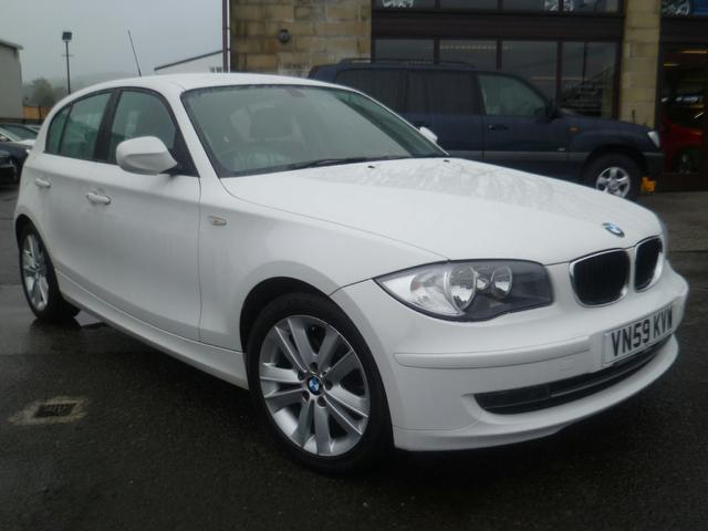 used bmw 1 series 2009 manual diesel 118d sport 5 door white for sale uk autopazar. Black Bedroom Furniture Sets. Home Design Ideas