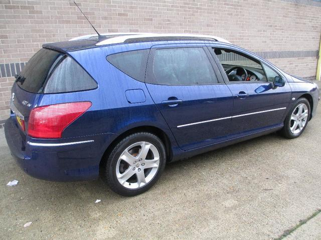 Used Peugeot 407 2.0 Hdi 136 Gt Estate Blue 2007 Diesel for Sale in UK