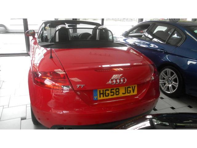 used audi tt 2009 petrol fsi 2dr low convertible red with full service history for sale. Black Bedroom Furniture Sets. Home Design Ideas