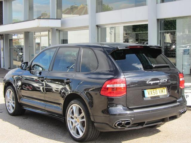 Used Porsche Cayenne Gts 5 Door Tiptronic S 4x4 Black 2008 Petrol for Sale in UK