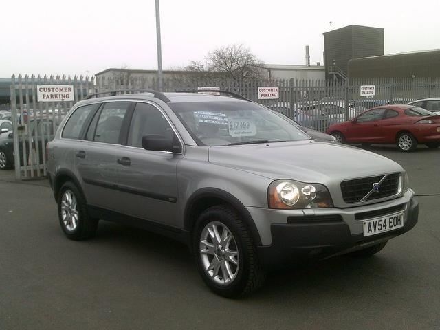 used volvo xc90 2004 diesel 2 4 d5 se 5dr 4x4 green edition for sale in fengate uk autopazar. Black Bedroom Furniture Sets. Home Design Ideas