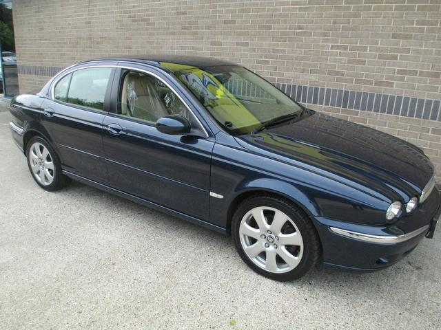 Cars For Sale Uk Norfolk: Used Jaguar X Type 2007 Diesel 2.2d Se Nav Saloon Blue