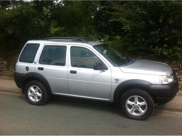 Used Land Rover Freelander 2002 Silver 4x4 Petrol Manual for Sale