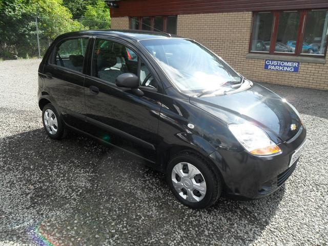 used 2009 chevrolet matiz hatchback black edition 0 8 s 5dr low petrol for sale in inveralmond. Black Bedroom Furniture Sets. Home Design Ideas