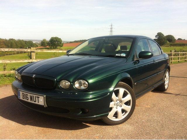 Used Jaguar X type 2004 Green Saloon Petrol Automatic for Sale